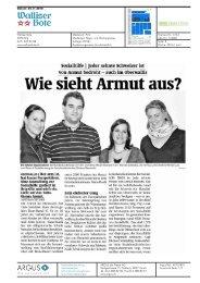 Walliser Bote: Jeder zehnte Schweizer ist von Armut bedroht - Im Fall