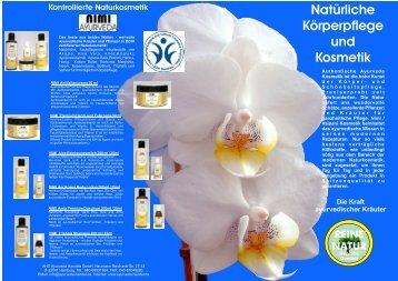 Die Kraft ayurvedischer Kräuter Natürliche Körperpflege und Kosmetik