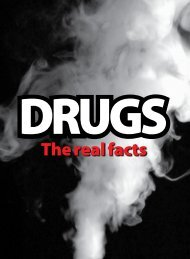 The real facts - Drugs Campaign - Department of Health and Ageing