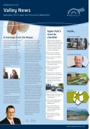 to view the Valley News | September 2012 - Upper Hutt City Council