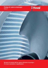 Scarica la brochuire tecnico informativa delle ... - Infobuildenergia.it