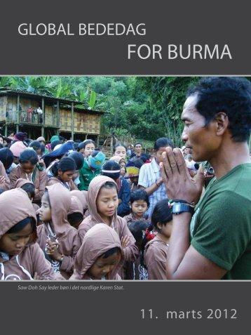 Christians Concerned for Burma