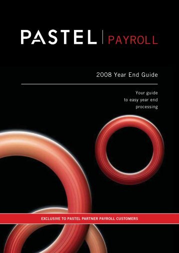 2008 Year End Guide