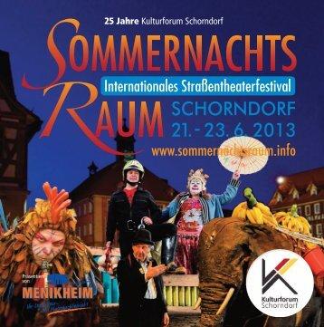 25 Jahre Kulturforum Schorndorf