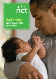Dad's view: Early days with your baby - NCT