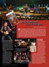 BRUCE SPRINGSTEEN - Drum Paradise Nashville