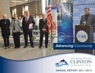 Advancing Community - Clinton Community College