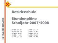 bez_std_2007 - Klassen 1-4 - Schule Schöftland