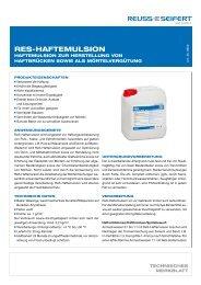 ReS Haftemulsion (pdf 980 KB) - Reuss-Seifert GmbH