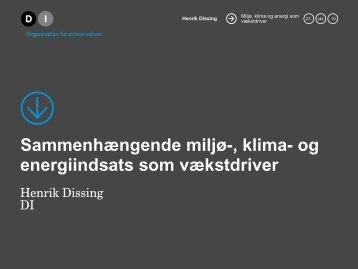 Sammenhængende miljø-, klima- og ... - Region Midtjylland