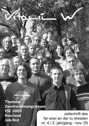 ESE 2005 - phpweb.tu-dresden.de