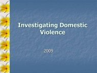 DV Investigations 2009 – very large file 10MB - Pacific Prevention of ...