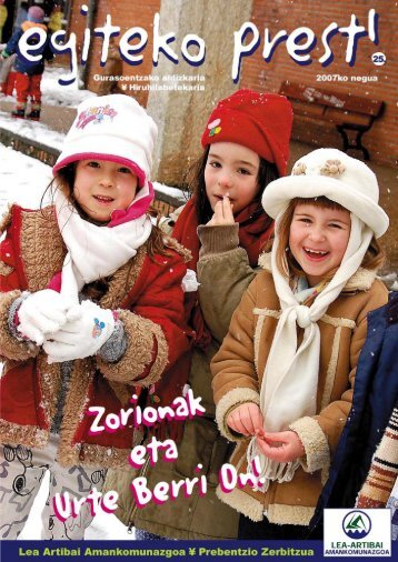 25. Zenbakia - Lea-Artibai Amankomunazgoa