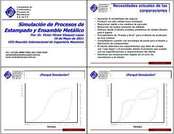 Simulación de Procesos de Estampado y Ensamblado Metálico ...