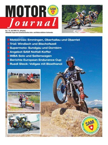 Motor Journal Nr. 07 / 2009 hier herunterladen (PDF, 2974kB) - SAM