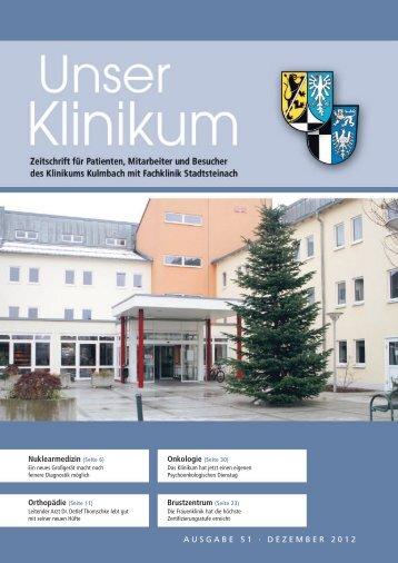 Nuklearmedizin - Klinikum Kulmbach