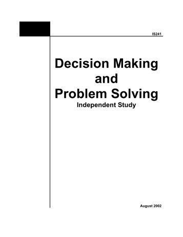 problem solving wsq