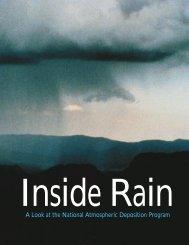 Inside Rain - National Atmospheric Deposition Program