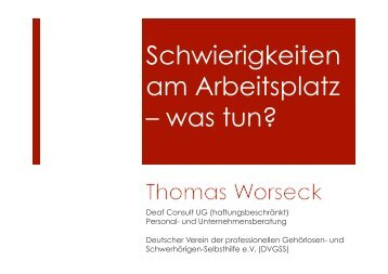 (PDF) Schwierigkeiten am Arbeitsplatz – was tun? - Zeichen setzen!