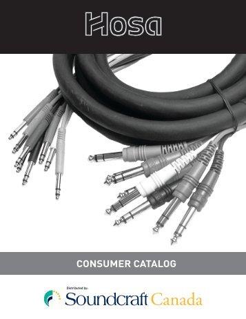 CONSUMER CATALOG - Soundcraft Canada
