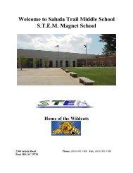 Rising 6th Grader Information Packet.pdf - Saluda Trail Middle School