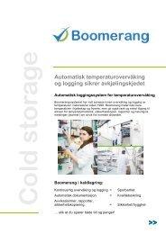 Page 1 Automatisk temperaturovervåking og logging sikrer ...