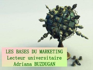 Le marketing est - Adriana Buzdugan's Blog