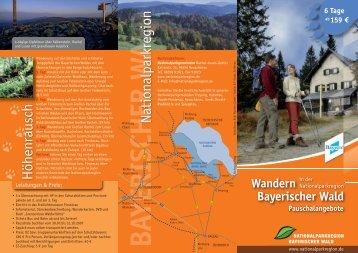 Wandern - Nationalpark Bayerischer Wald