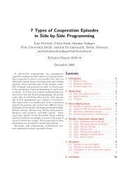 7 Types of Cooperation Episodes in Side-by-Side Programming