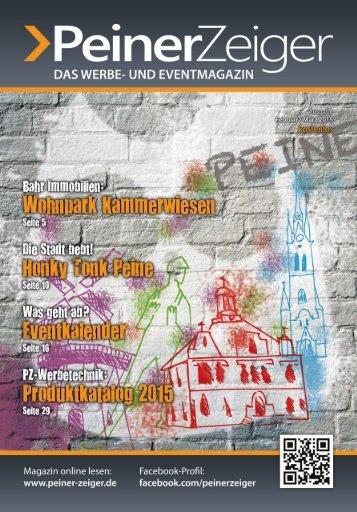 Peiner-Zeiger Stadtmagazin Ausgabe Februar / März 2013