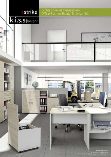 Serie Strike - Rollcontainer und Büromöbelprogramm