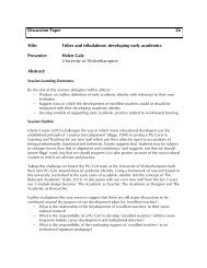 Discussion Paper 26 Title: Tribes and tribulations ... - Seda