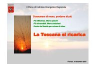 L T i i i L T i i i La Toscana si ricarica - Tecno Energysun