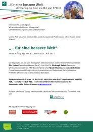 Tagungseinladung. - Raumplanung Steiermark