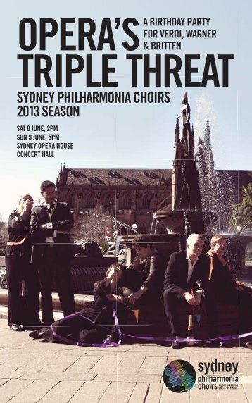 Download the Opera's Triple Threat program book (8 & 9 June) PDF