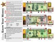 Know Your Money - United States Secret Service