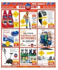 Australia Day - Red Dot