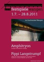 Amphitryon Pippi Langstrumpf - Text und Kult