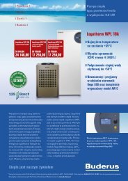 Logatherm WPL 10A - Buderus