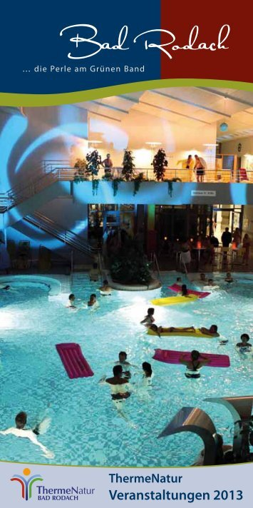 Events 2013 - therme Natur Bad Rodach