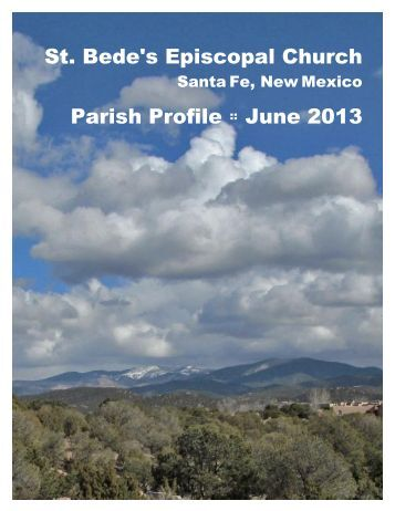St. Bede's Episcopal Church Parish Profile :: June 2013