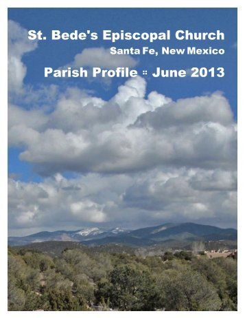 St. Bede's Episcopal Church Parish Profile :: June 2013