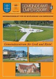 Zeitung VIII.pdf - Gemeinde Empersdorf