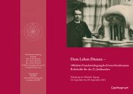 Dem Leben Dienen – - Goetheanum