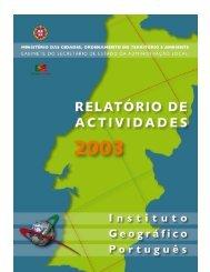 2003 - Instituto Geográfico Português