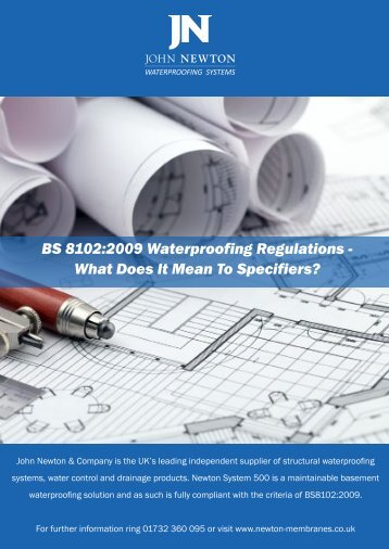 BS8102 and what it means to specifiers Guide - Barbour Product ...
