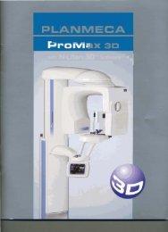 Planmeca Promax 3D with N-Liten 3D Software