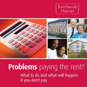 Problems paying the rent? - Eastlands Homes
