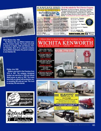 Antique Trucks - Territorial Magazine
