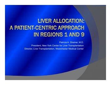 Session 4A - Organ Procurement and Transplantation Network